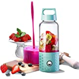 Personal Smoothie Blender, Detachable Portable Blender Fruit Mixer, High Speed Single Serve Juicer Cup, with Lightweight…