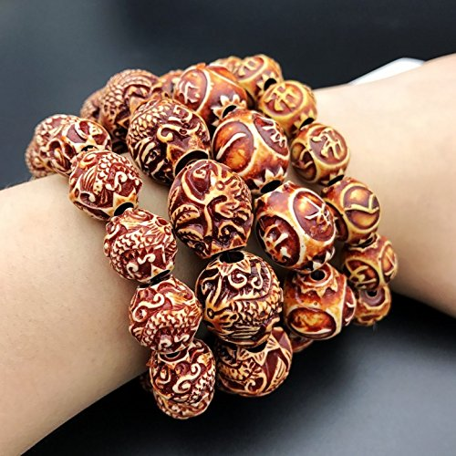 Dragon sculpture prayer beads bracelets men and women of peace to spread the supply Korean fashion bracelet trinkets beads bracelets
