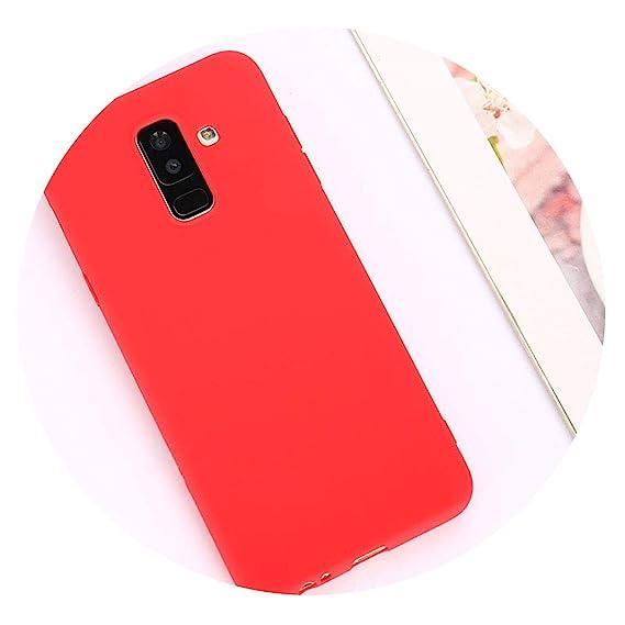 Amazon.com: Candy Macaron Color Case for Samsung Galaxy A50 ...