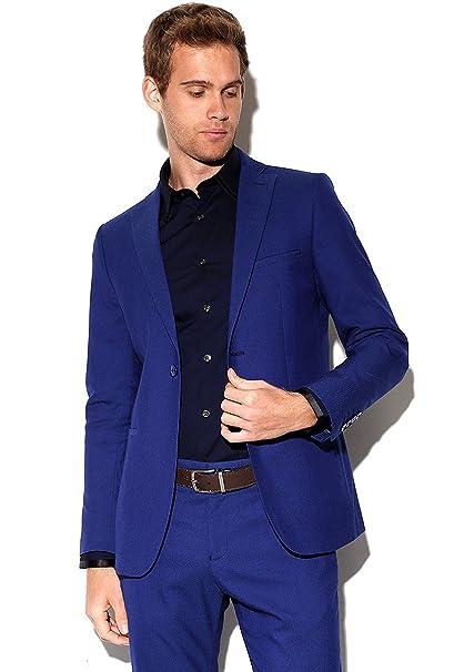 LOB- Saco Azul Rey Saco para Hombre Azul Talla 04  Amazon.com.mx ... 17b4699ce4b