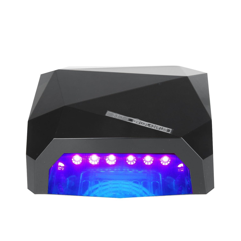 Vinteky® Lámpara LED Profesional Secador de Uñas Manicuras con Temporizadores de