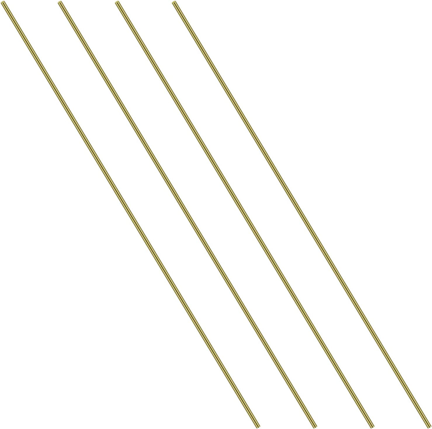 1/8 Inch Brass Round Rod, Favordrory 4PCS Brass Round Rods Lathe Bar Stock, 1/8 Inch in Diameter 14 Inches in Length 61bgMC9vzlL