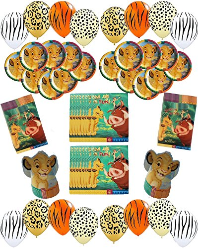Disney The Lion King Deluxe Party Pack Bundle