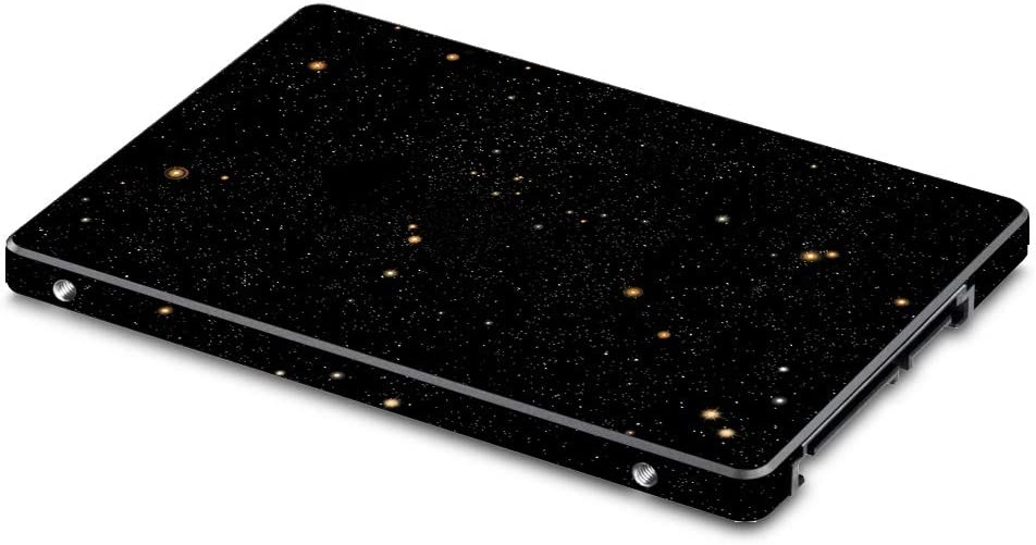 """MightySkins Skin Compatible with Samsung 850 Or 860 Evo 2.5"""" SSD - Deep Space 