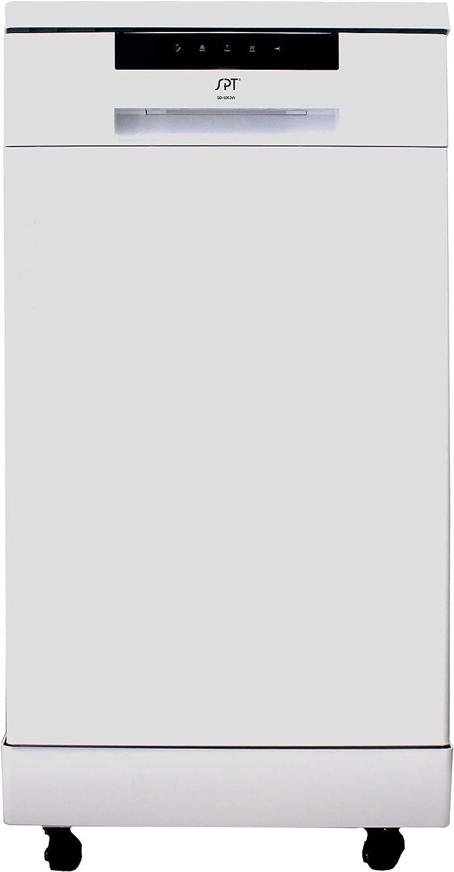 SPT, SD-9263W: 18″ Energy Star Portable Dishwasher