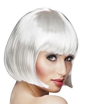 Boland - Peluca de Cabaret - Modelo tipo casquete One Size Bianco