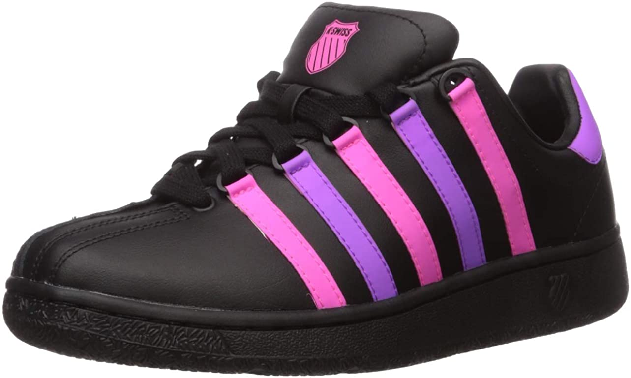 Retro Sneakers, Vintage Tennis Shoes K-Swiss Womens Classic Vn Heritage Sneaker $71.45 AT vintagedancer.com