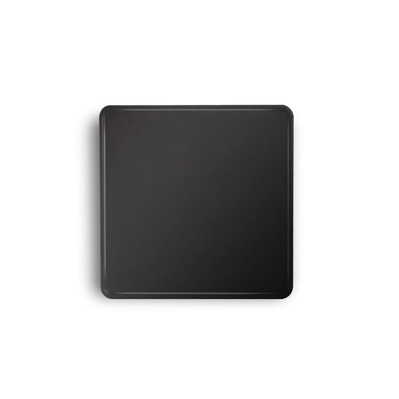 "Espresso Parts EP6030 Barista Basics Square Compact Espresso Tamping Mat, 6X6"", Black"