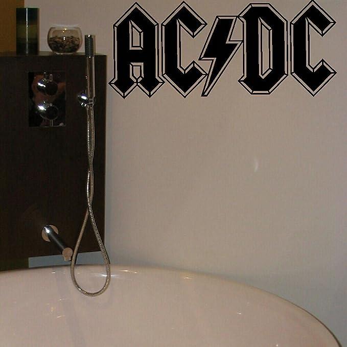 ACDC AC DC  LARGE KITCHEN BEDROOM WALL MURAL GIANT ART STICKER DECAL MATT VINYL