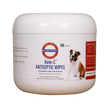 keto-c antiséptico toallitas (50 unidades)