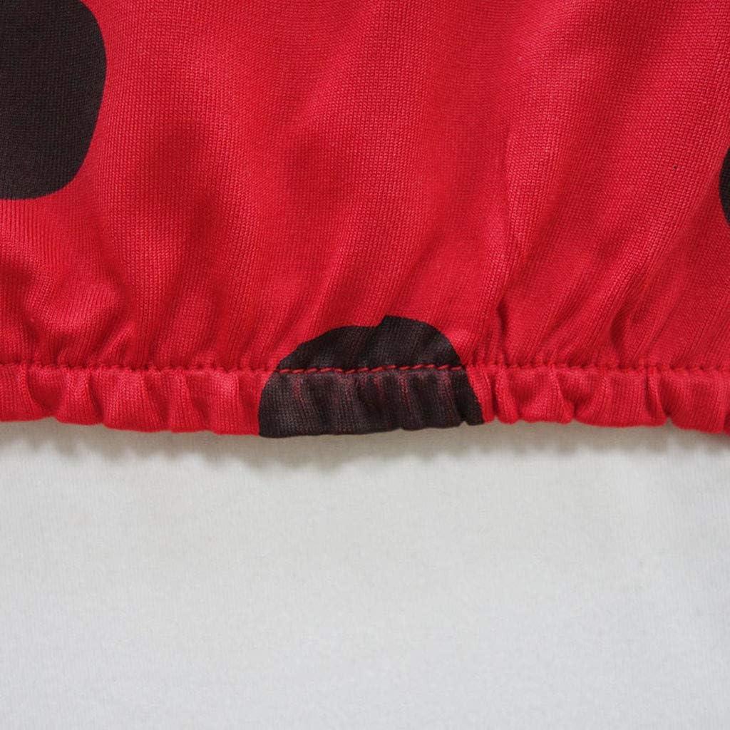 Mitlfuny Ba/ñadores Conjuntos Verano Ropa beb/é Traje de Ba/ño Ni/ña Playa Piscina Dividir Bikini Lunares Sin Mangas Sling Nadando Volantes Ba/ñador Nataci/ón Arco Faldas