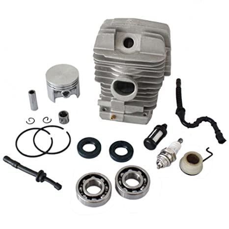 Podoy MS290 Chainsaw Parts for Stihl 029 039 Ms390 with 46mm Cylinder  Piston Kits Bearing Oil Seal Kits