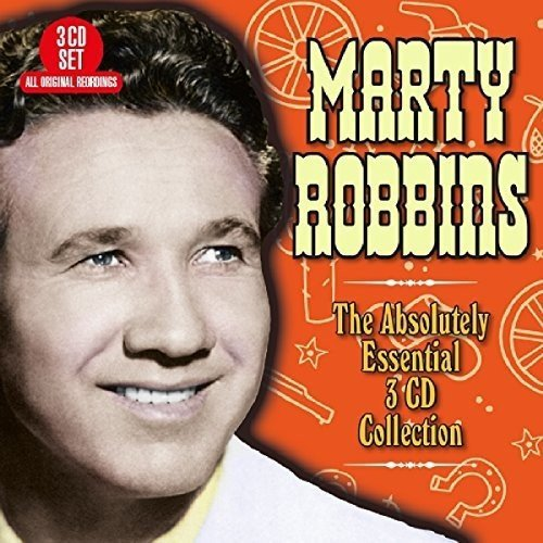 CD : Marty Robbins - Absolutely Essential (United Kingdom - Import, 3PC)