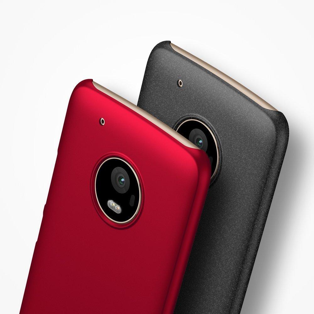 5cd6ed3a568 Funda Moto G5 plus w/[Moto G5 plus Screen Protector ], Almiao Funda  protectora de teléfono delgada minimalista Protector para Moto G5 plus 5.5  pulgadas ...