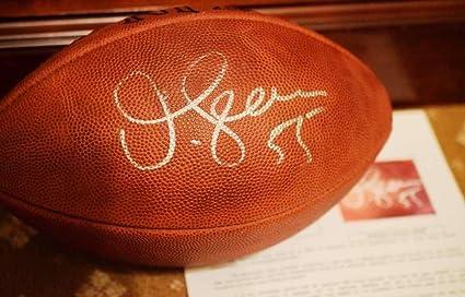 8bdc014de Junior Seau Autographed Football - COA Authentic - JSA Certified -  Autographed Footballs