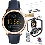 for Fossil Q EXPLORIST Screen Protector (2 Units) Invisible Ultra HD Clear Film Anti Scratch Skin Guard - Smooth/Self-Healing/Bubble -Free by IPG