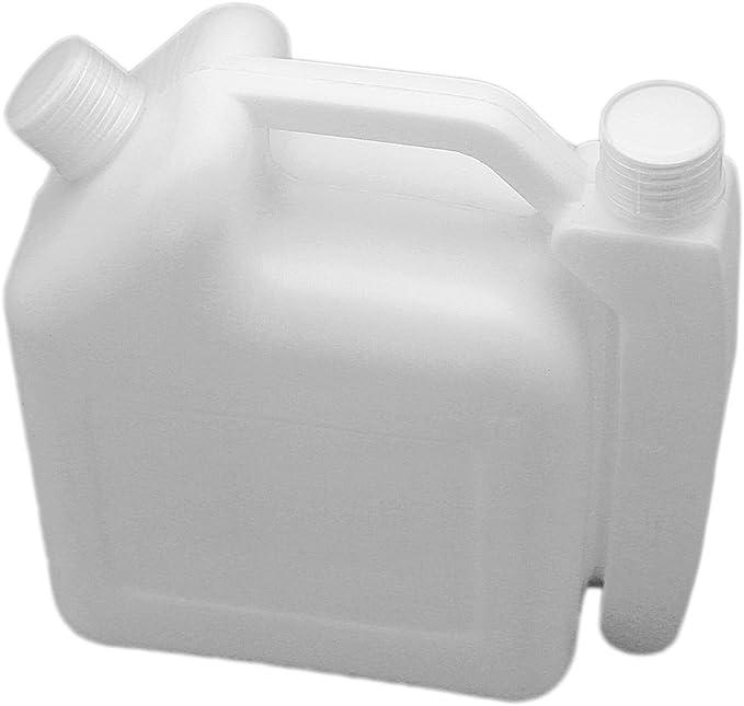 1.0L 1L Botella de Mezcla de Mezcla de Aceite de Gasolina de Combustible portátil de 2 Tiempos 25: 1 Cortadora de Motosierra 50: 1 Desbrozadora Strimmer: Amazon.es: Jardín