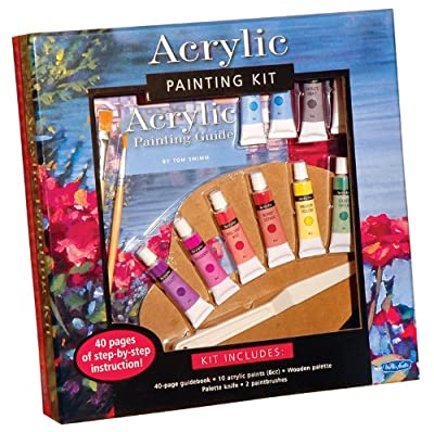 Acrylic Painting Kit: Professional materials and step-by-step instruction for the aspiring artist (Walter Foster Painting Kits)