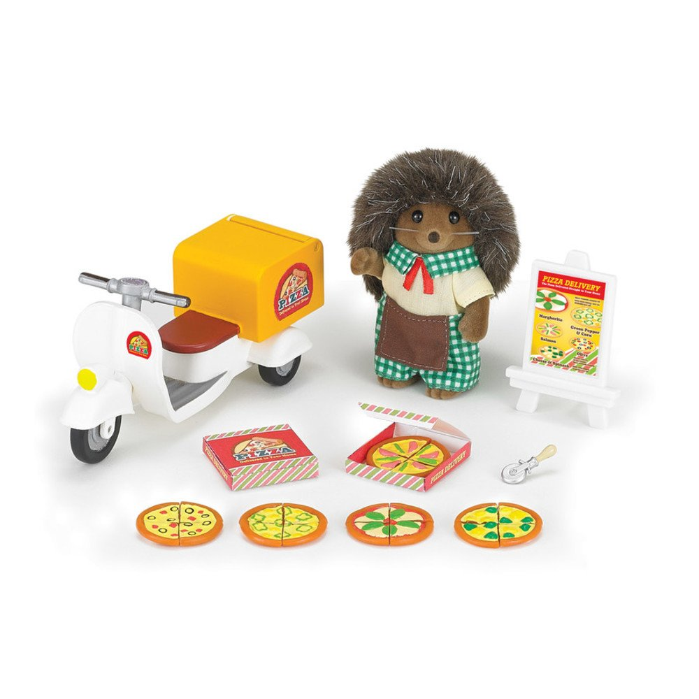 Calico Critters Pizza Delivery...