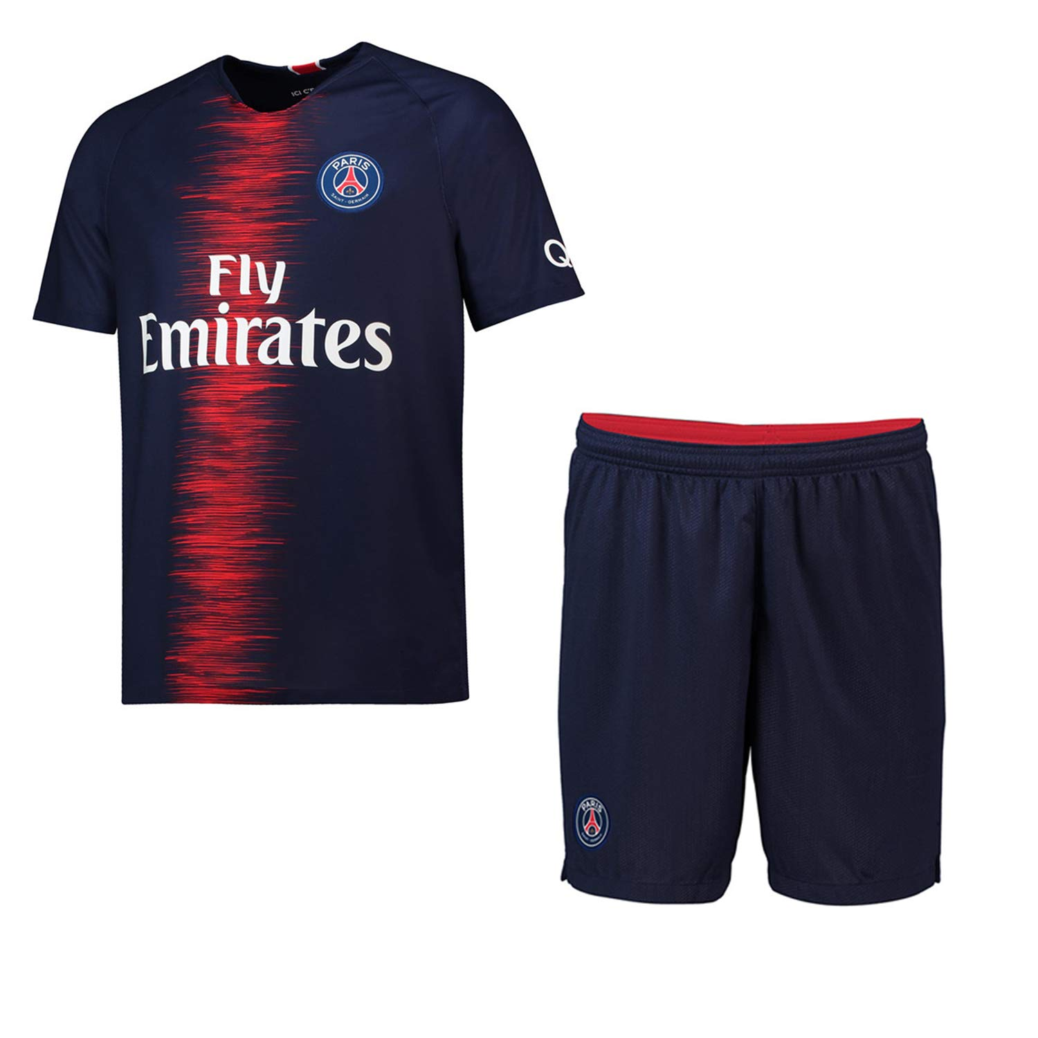 f965319b2 Panicy 2018-2019 Personalised Arsenal Home Football Shirt Custom Soccer  Jersey Personalised with Team Name larger image