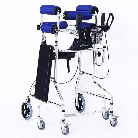 LHY-walker Andador de Seis Ruedas para Caminar, de pie, con ...