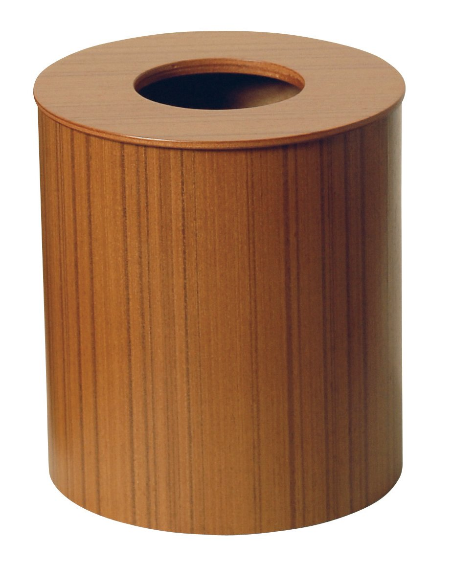 SAITO WOODその他 SAITO WOOD ごみ箱 ダストボックス ドーナツ蓋 M 951 5.5L チークグレインの画像