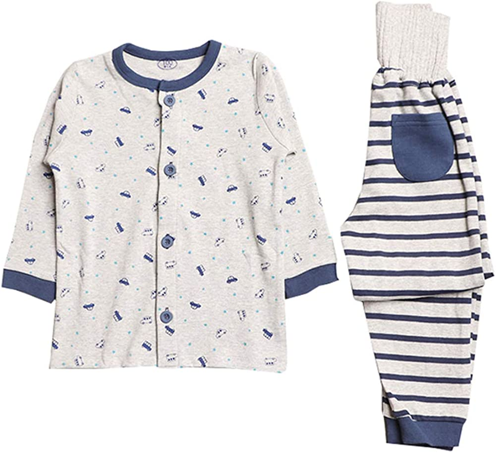 MAOMAHREWW Toddler Kids 2pcs Pajama Set T-Shirt+High Waist Pants Sleepers Outfit