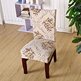 Universal Stretch Spandex Dining Room Wedding Banquet Protect Chair Cover Slipcover (K)