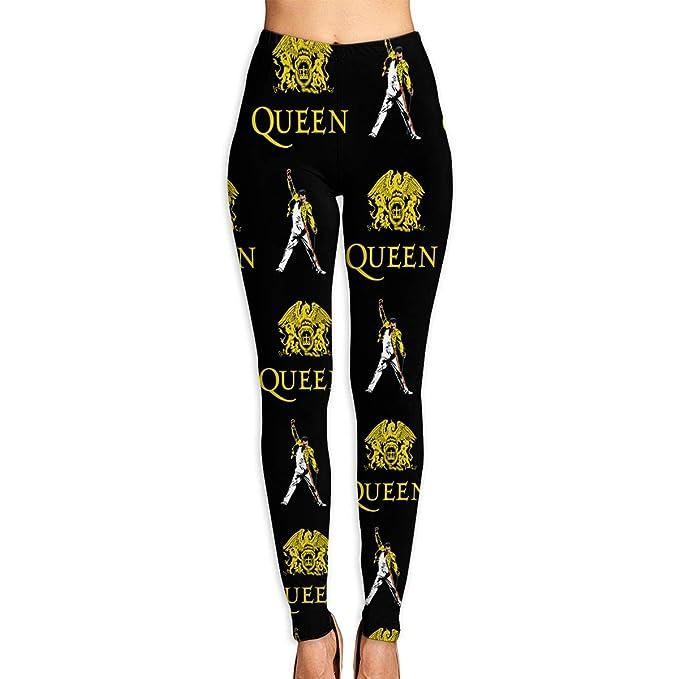 Amazon.com: Queen Rock Band Freddie Mercury Womens Stretch ...