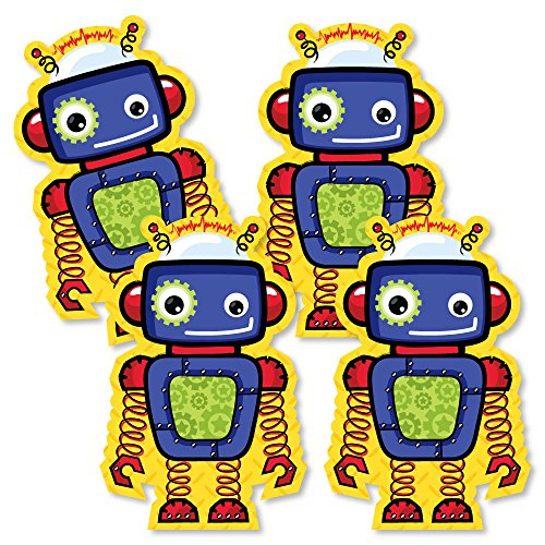 Robots - Decorations DIY Baby Shower or Birthday Party Essentials - Set of 20 by Big Dot of Happiness