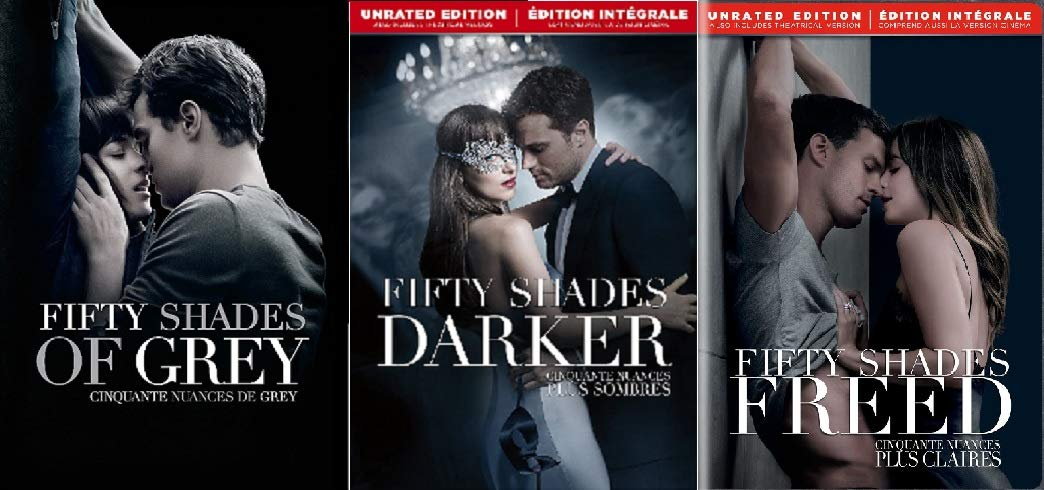 Amazon.com: Fifty Shades DVD 3-Pack: Fifty Shades of Grey