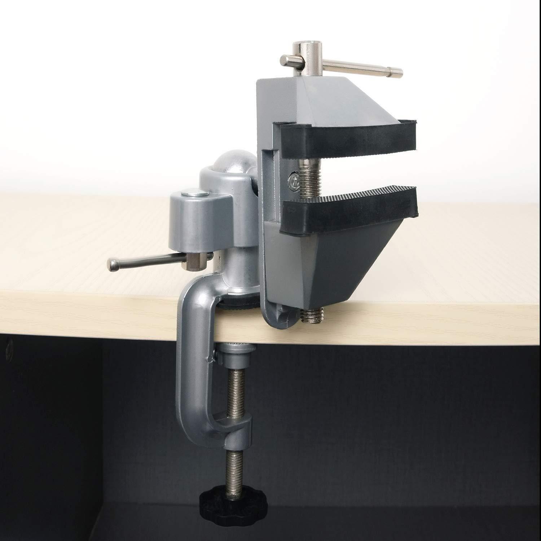 UFelice /Étau de table multi-angle avec rotation /à 360 degr/és Capacit/é de m/âchoire 75 mm