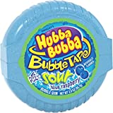 HUBBA BUBBA Sour Blue Raspberry Bubble Chewing Gum