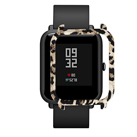 MYQyiyi Protector de Pantalla del Reloj Inteligente para Xiaomi Huami Amazfit Bip Youth Watch (A