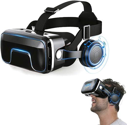 SHENGY VR Gafas 3D de Realidad Virtual, para Ver películas en 3D y ...