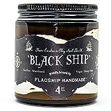 Flagship Pomade Co. Black Ship Heavy Water Based Vegan Pomade 4oz