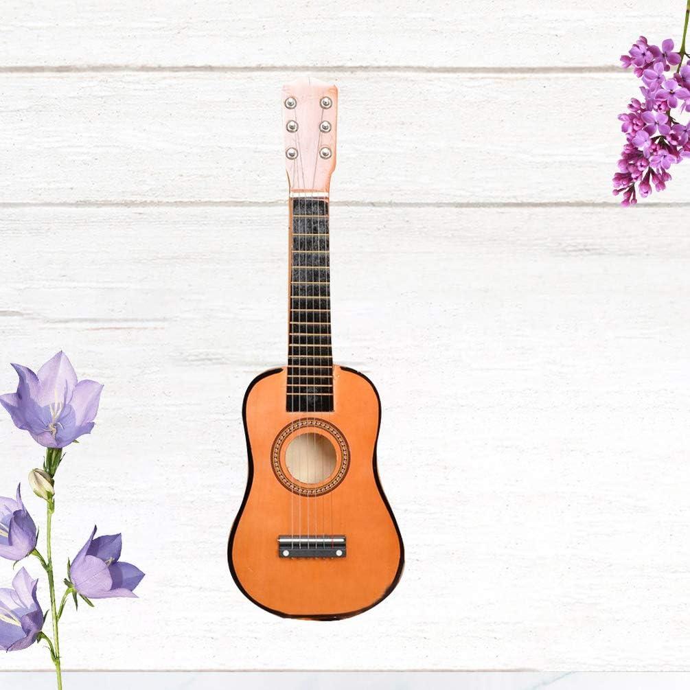 Milisten 21 Pulgadas Guitarra Acústica Guitarra para Principiantes ...