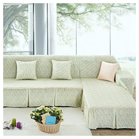 GELing Funda Cubre Sofá Chaise Longue Adele, Protector para ...