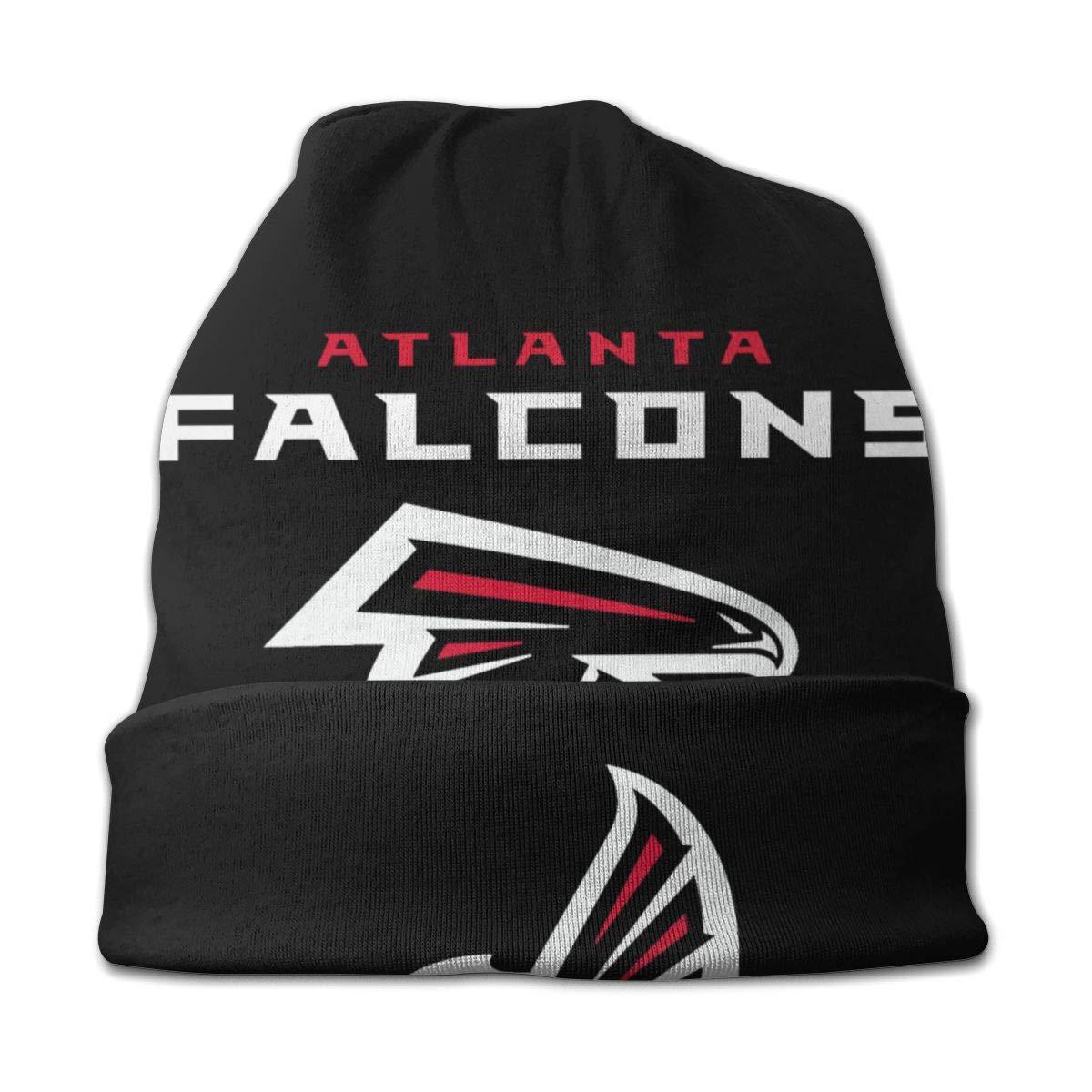 Sinobullit Kids Beanie Caps Atlanta Falcons Skull Cap Knitting Hat Warm Winter Knit Hats for Boys Girls Black