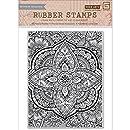 Hero Arts CG638 Basic Grey Spice Market Cling Stamp, Large Petal Background