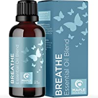 Breathe Blend Essential Oil for Diffuser - Breathe Essential Oil Blend with Eucalyptus Peppermint Tea Tree and Spearmint…