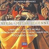 Verdi: Messa Solenne / Libera me / Sacred Works