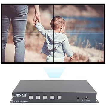 LINK-MI TV04S - Controlador de Pantalla de vídeo HDMI 2x2 con ...