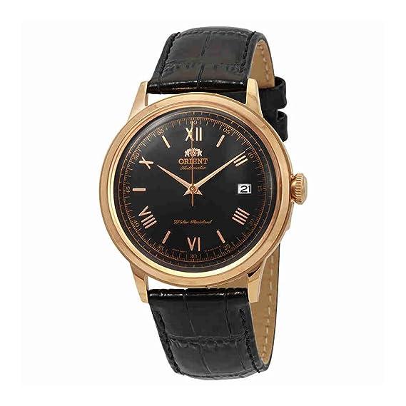 Orient Reloj Analógico para Hombre de Automático con Correa en Cuero FAC00006B0: Amazon.es: Relojes