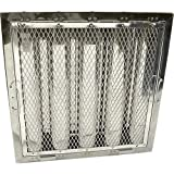 CAPTIVE AIRE Baffle Grease Filter for Captive-Aire 20'' H x 20'' W HRSA2020