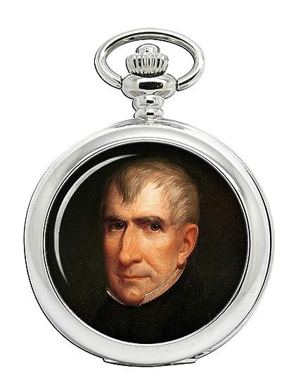 Presidente William Henry Harrison Full Hunter reloj de bolsillo: Amazon.es: Relojes