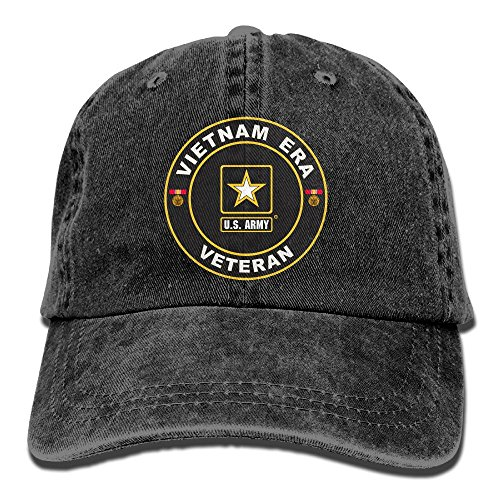 Dkvmkrvla-US-Army-Vietnam-Era-Veteran-Adjustable-Baseball-Caps-Denim-Hats-Cowboy-Sport-Outdoor