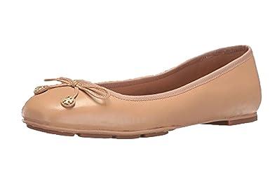 31494ea90e Amazon.com | Tory Burch Laila Driver Ballet Flats, Tory Beige | Flats