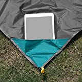 iMissiu Sand Free Beach Mat, Picnic Pocket