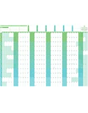 Geopacks Giant 2019/2020 Academic Year Wall Planner - Write On, Wipe Off (85 x 120cm)